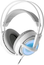 Steelseries Siberia V2 Frost Blue Illuminated Wired Stereo Gaming Headset - Wit (PC + PS4 + MAC)