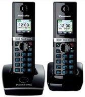 Panasonic KX-TG8052 - Duo DECT telefoon - Zwart
