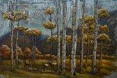 80x120 Het gele bos