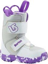 Burton Meisjes Snowboardschoenen Mini-Grom White/Purple