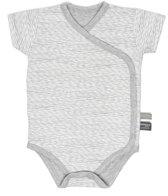 Snoozebaby Unisex Rompertje - grijs - Maat 68