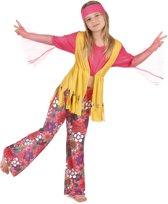 Veelkleurige Hippie Outfit Voor Meisjes Verkleedkleding
