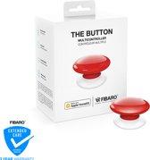 FIBARO The Button - Werkt alleen met Apple HomeKit - Scène schakelaar - Rood