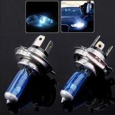 Halogeenlamp, Super witte autokoplamp, 12 V / 55 W, 6000 K 1700 LM (paar)