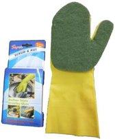 ComfortTrends Spons Handschoen Medium - Geel
