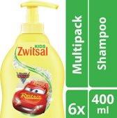 Zwitsal Cars Shampoo - 6 x 400 ml - Voordeelverpakking