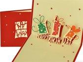Popcards popupkaarten - Happy Birthday verjaardag verjaardagskaart pop-up kaart