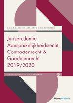 Boek cover Boom Jurisprudentie en documentatie - Jurisprudentie Aansprakelijkheidsrecht, Contractenrecht en Goederenrecht 2019/2020 van Diana Dankers-Hagenaars (Paperback)