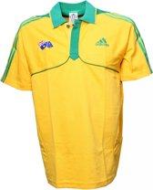 Adidas Polo Australië Geel Heren Maat Xs