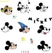 Roommates Muurstickers Mickey Mouse Classic Vinyl 20 Stuks