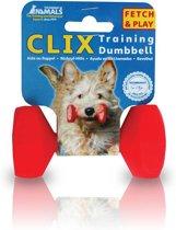 Clix Trainen & africhten Dumbbell small rood