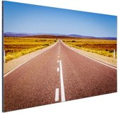 FotoCadeau.nl - Weg Australie  Aluminium 30x20 cm - Foto print op Aluminium (metaal wanddecoratie)