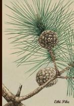 Ethi Pike - Pleasant Pinecones Notebook / Extended Lines / Soft Matte Cover: An Ethi Pike Collectible Journal