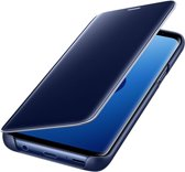 Clear View Case - Cover voor Samsung Galaxy S9 - marocan blue - blauw