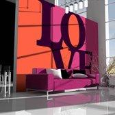 Fotobehang - Love is in the air
