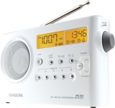 Sangean package PR-D4 - Draagbare radio - Wit