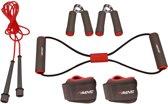 Avento Fitness Set - 6-delig - Grijs/Roze/Zwart