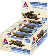 Atkins Chocolate Brownie Caramel reep 15+1 gratis