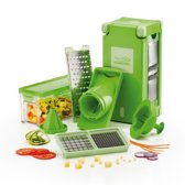 Genius Nicer Dicer Magic Cube - 12-delig - Groen