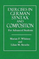 Exercises in German Syntax and Composition