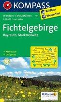 Kompass WK191 Fichtelgebirge, Bayreuth, Marktredwitz