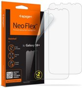 Samsung Galaxy S9 Plus Screenprotector Spigen Neo Flex HD (2 Pack)