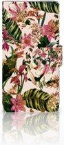 Sony Xperia Z1 Bookcase Flowers