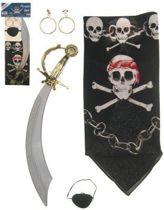 Piratenset 4 delig