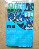 Demo Creations elastische boekenkaft Groen