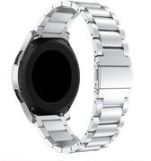 Metaal schakel bandje Zilver geschikt voor Samsung Galaxy Watch 46mm - SmartphoneClip