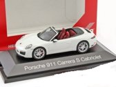 Porsche 911 Carrera S cabrio wit (991 II)