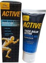 Tijgerbalsem Spiergel tube 'Tiger Balm Active Muscle Gel' 60 gram
