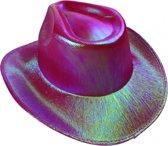 Lg-imports Cowboyhoed Glans Unisex One Size Fuchsia