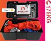 Magneetvissen - 175KG – Sterke vismagneet – touw 10m - handschoenen en Schroefdraadborgmiddel