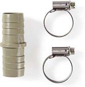 Verlengstuk Slang | 2 Slangklemmen | 22 mm - 22 mm