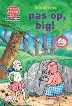 Leren lezen met Kluitman - De klas van mees bok 1: Pas op, big!