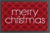 Deurmat kerst Merry christmas Wasbaar 30°C 40x60 cm