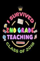 I Survived 2nd Grade Teaching Class of 2018