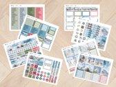 planner Stickers algemeen 2013 WINTER  voor Mascha Planner