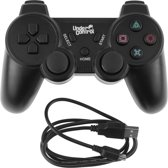 Under Control Bluetooth PS3 Controller - Zwart