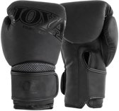Joya Fight Gear Metal Kickboxing - (kick)bokshandschoenen - Synthetisch leer - 12oz - matzwart