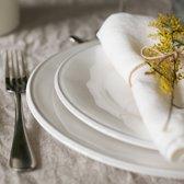 Coté Table Constance dinerborden (4 stuks) - 28,5cm wit