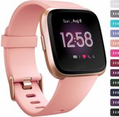 123Watches.nl Fitbit versa sport band - roze - ML