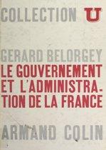 Le gouvernement et l'administration de la France