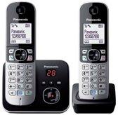 Panasonic KX-TG6822 - Duo DECT telefoon met Antwoordapparaat - Zwart