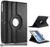 Samsung Galaxy Tab 3 10.1 Inch Hoes Cover 360 graden draaibare Case Beschermhoes Zwart