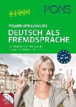 PONS Power-Sprachkurs Deutsch als Fremdsprache A1+A2 Buch + Audio+MP3-CDs + online-Tests