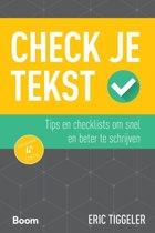 Check je - Check je tekst