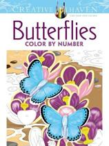 Bolcom Creative Haven Floral Design Color By Number Coloring Book