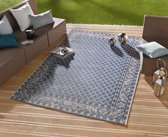 Vloerkleed - In&outdoor - Bougari Royal- Blauw - 160x230cm geweven